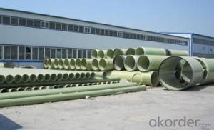 GRE pipe, FRP pipe Manufacturer Passed ISO 9001 fRO  China