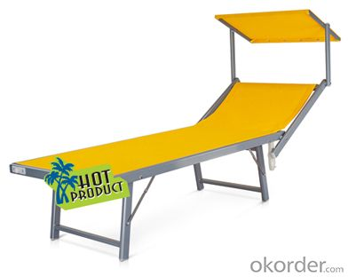 China Wholesale Texitilene Folding Beach Bed