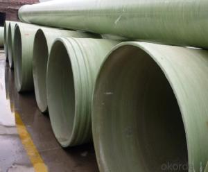 FRP Pipe Glass Fiber Reinforced Plastic and Fitting Made in Chiina