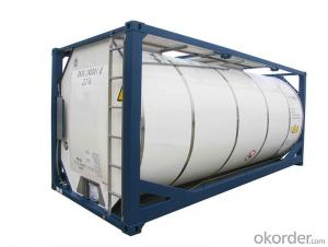 Heavy Duty 20FT Tank Container for Transporting Oil and Gas