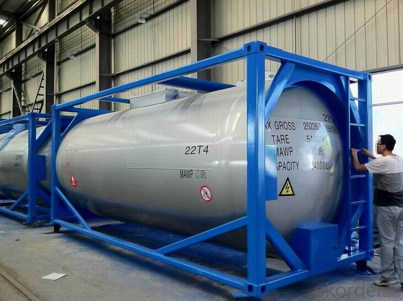 40FT Steel Shipping Tank Container for Storing Fuel