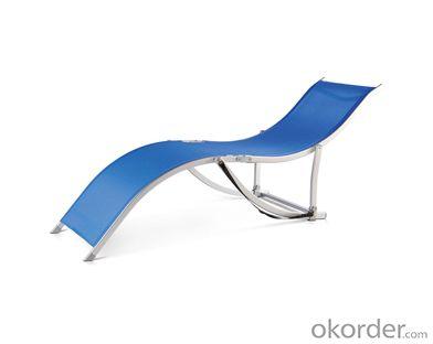Textilene Sun Lounger with Light Weight Folding Beach Bed