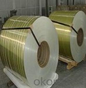 Window Blinds Applied Aluzinc Prepainted Steel Coil
