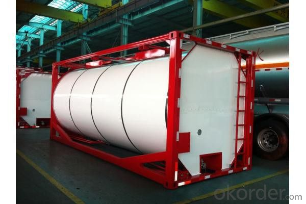 20FT Cement Tank Container for Storing Oil and Gas