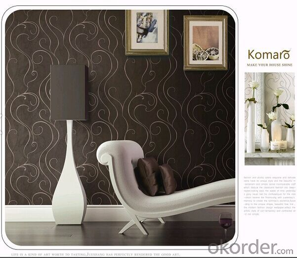 PVC Wallpaper Boys Bedroom Modern Wallcovering