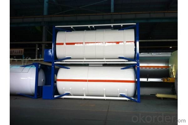 40FT Tank Container for Storing Oil and Gas