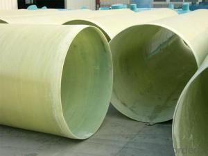 FRP Fiberglass Reinforced Pipe Factory Made in China