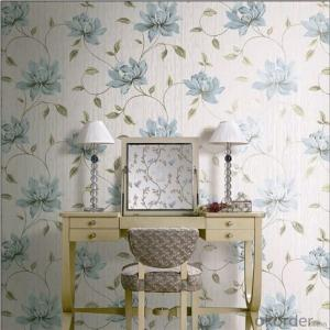 PVC Wallpaper Modern Embossed Hotel Reflective Wallpaper