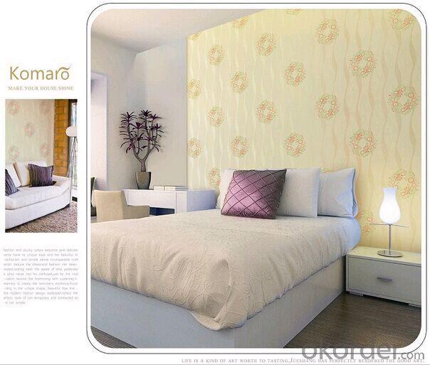 PVC Wallpaper European Damascus Bedroom Sitting Room Spread Wallpaper
