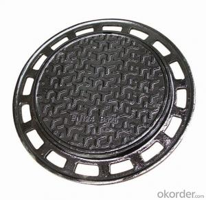 Manhole Cover Precision Casting Ductile Cast Iron with Good Quality Made in China