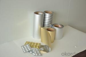 Pharmaceutical Cold Formed Alu Alu Foil