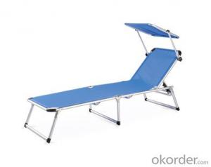 Outdoor SGS Textliene Chaise Lounge Sunbed