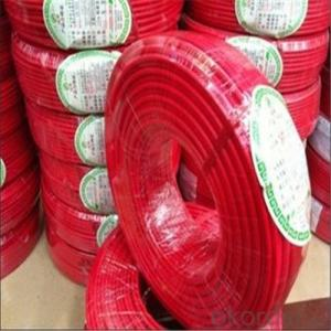 Single Core LSZH material Insulated Fire retardant Cable 450 /750 VH07Z-U