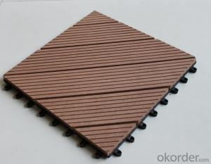 WPC Decking high quality Recycled Plastic