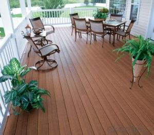WPC decking / wood WPC decking for garden wpc decking floor tile