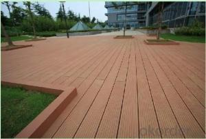 WPC DECKS/Western newest fashion wpc decking floor board