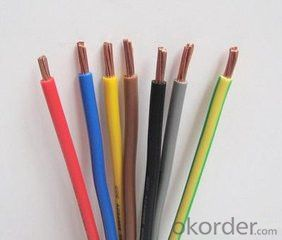 Single Core PVC Insulated Cable 450 /750 V BVR