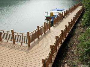 WPC DECKS/Plastic bamboo composite wpc decking