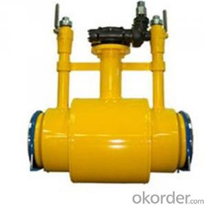Pipeline Ball Valve-Reduced Bore High-Performance PN 42 Mpa