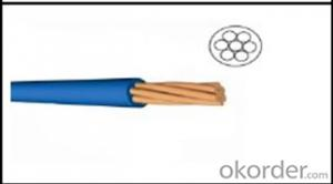Single Core LSZH material Insulated Fire retardant Cable 450 /750 V H07Z-R