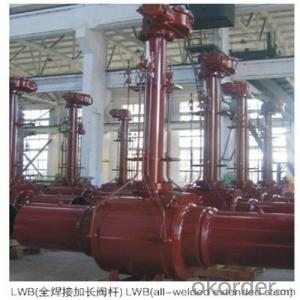 Pipeline Ball Valve-Reduced Bore High-Performance PN 2 Mpa