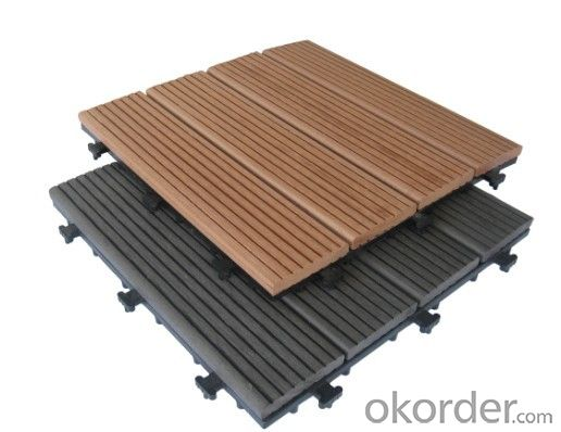 Waterproof Outdoor Flooring WPC Decking/Pass CE, ISO-9001,ISO-14001 certification