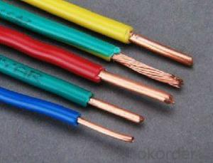 Single Core PVC Insulated Cable 450 /750 V BS6004 6491X