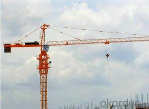 8ton tower crane Q5516 QTZ125 high quality