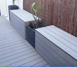 wpc decking/flooring/Garden design outdoor waterproof