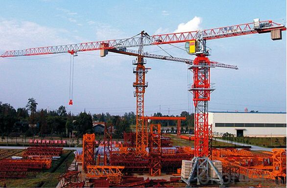QP7527 16 tons Flat-top Tower Crane TCP7527