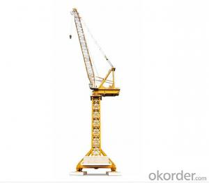12 Tons Luffing Jib Tower Crane QD228 With 50m Jib