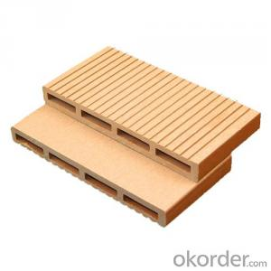 WPC decking on the Terrace/synthetic wood flooring/wpc decking