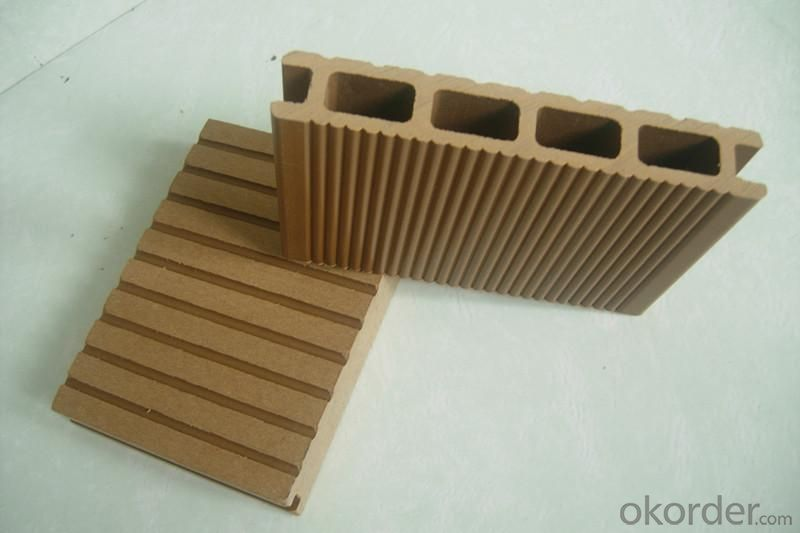 WPC Decking,Non-Slip  Wood Plastic Decking,Polystyrene Plastic Decking