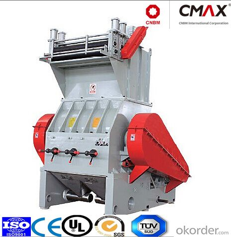 High Output CMAX Series PB&YPS-FP Sheet,Plates,Foam Coil Material Crusher extruder