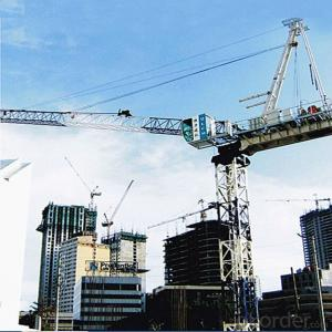 10 Tons 50m jib QD160 Tower Crane (QTZ160D)