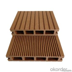 synthetic wood flooring/wpc decking/ 2015hot sale most popular WPC decking