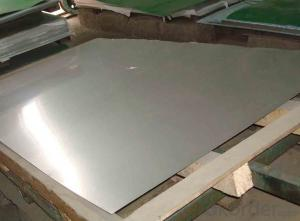 Stainless Steel Plate  304 with No.4 Surface Treatment