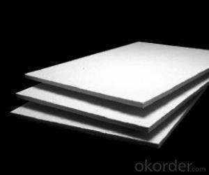 Ceramic Fiber Board Low Density High Strength Heat Insulation