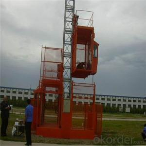 Building Hoist SCD250/250 Two Cage Counterweight