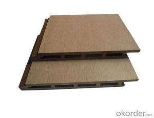 WPC decking/cheap price hollow outdoor wpc deck/wpc material