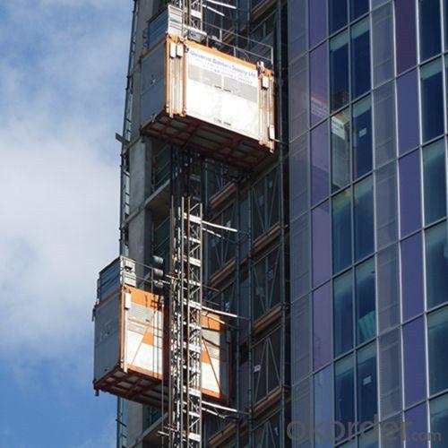 Building Hoist SC300/300 Twin Cabe for Construction