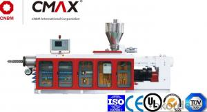 CMAX Conical Or Parallel Twin-screw  Plastic Extruder