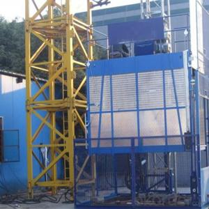 Building Hoist Lifter Frequency Conversioon Blue Appearance