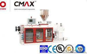 CMAX High Output Conical Twin-screw Plastic Extruder For High-speed Profiles