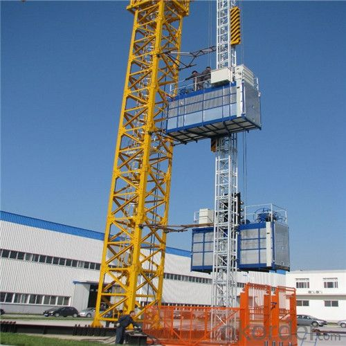 Building Hoist SCD250 Counterweight Single Cage