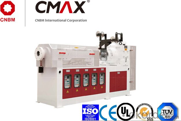 CMAX High Output Rubber Plastic  Extruder  Machine