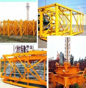 TOWER CRANE  H5015 TC5015 MAX. LOAD 6TON RADIUS 50M