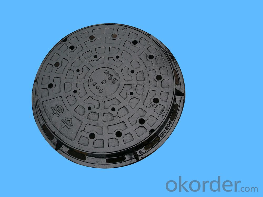 Manhole Cover Ductile Cast Iron on Sale from China Heavy Telecom Sew