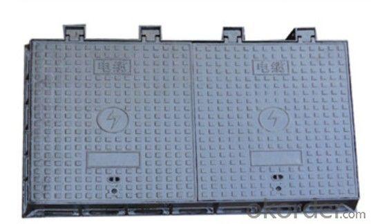 Manhole Cover Ductile Cast Iron on Sale Heavy Medium  Telecom Sew