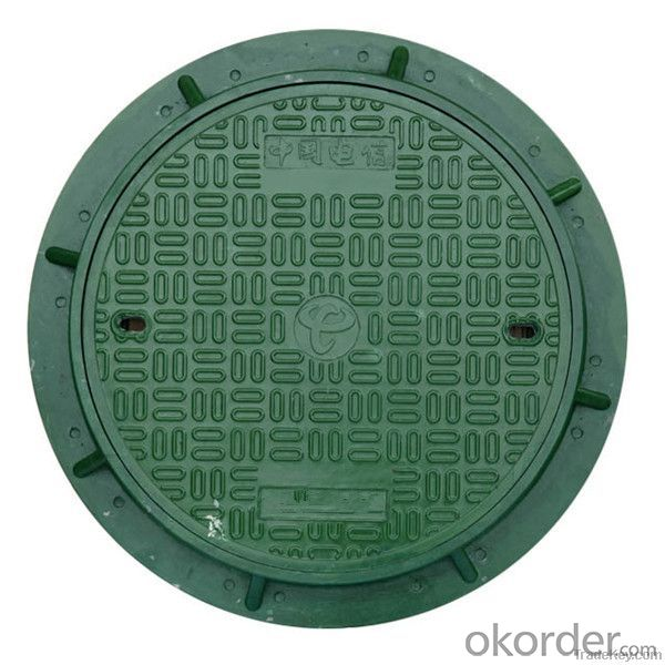 Manhole Cover Ductile Cast Iron from China on Sale Heavy Medium  Telecom Sew